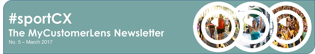 sportCX – the My Customer Lens newsletter 5