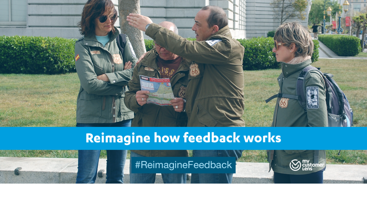 Reimagine how feedback works across your business